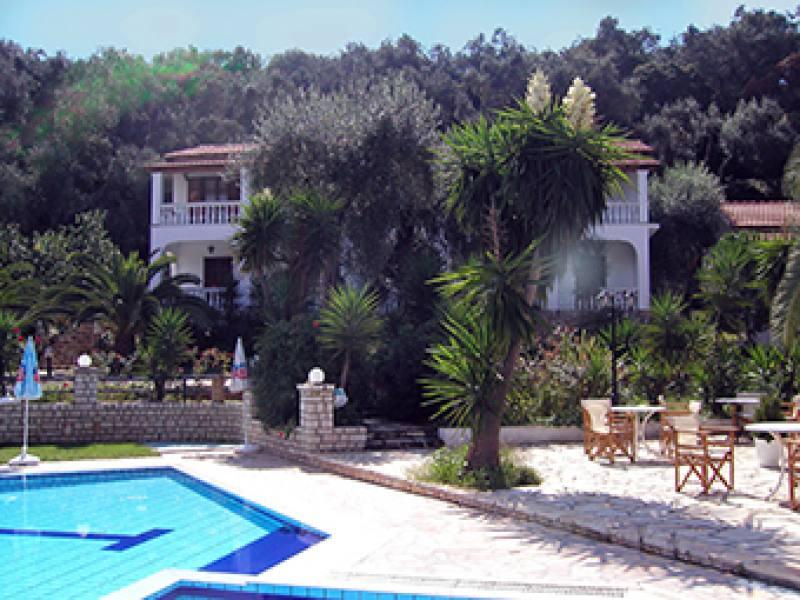 Appartementen Papoulas - Liapades - Corfu